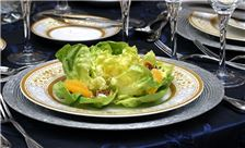 Washington Plaza Hotel Wedding - Salad Appetizer