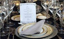 Washington Plaza Hotel Wedding - Menu