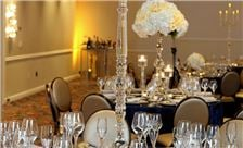 Washington Plaza Hotel Wedding - Table with Tall Candle Sticks