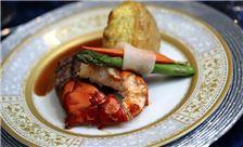 Washington Plaza Hotel Wedding - Seafood Appetizer
