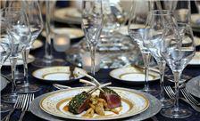 Washington Plaza Hotel Wedding - Table Setup