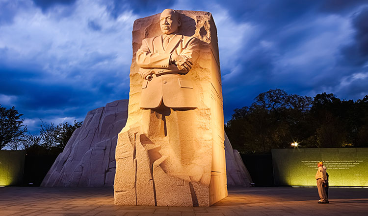 Martin Luther King, JR. Memorial in Washington